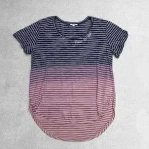 Maurices you're too close ombre striped shirt